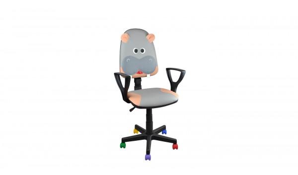 Детски стол Animal Хипопотам